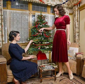 British war time christmas beauty tips for women in 1941 glamourdaze