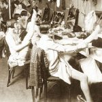 Inside a 1920s Chorus Girls Dressing Room