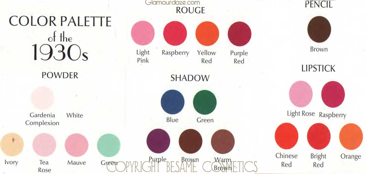 Six Makeup Secrets For The Perfect 1930 S Face Glamour Daze