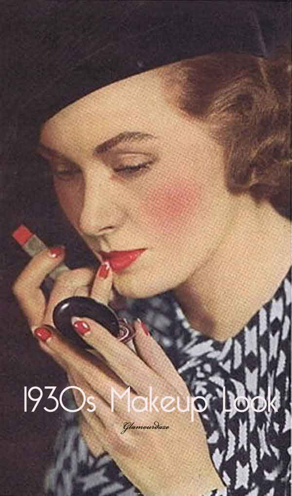 The 1930s Face u2013 6 Top Make-up tips by Gabriella Hernandez ...