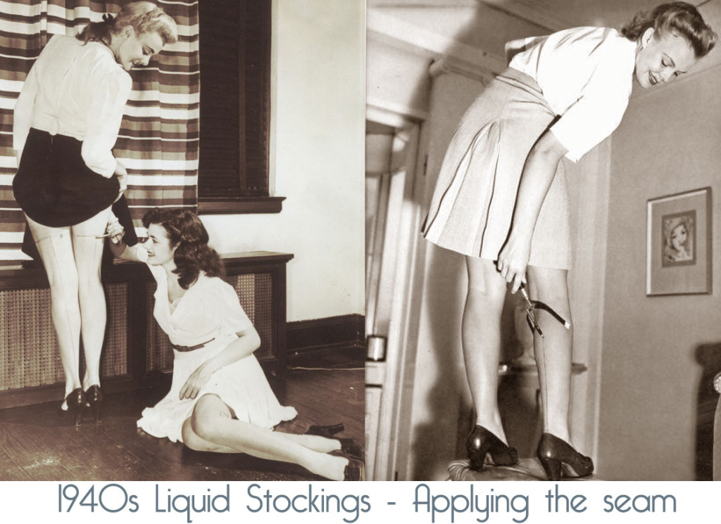 1940s-painted-stockings---applying-the-seams