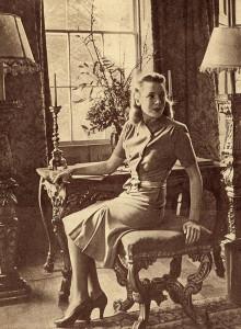 1-Deborah-Kerr-models-a-1940s-Utility-Dress