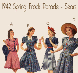 1940s-spring-frocks-parade-2