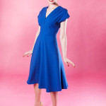 40s-Swing-Dress---Royal-Blue