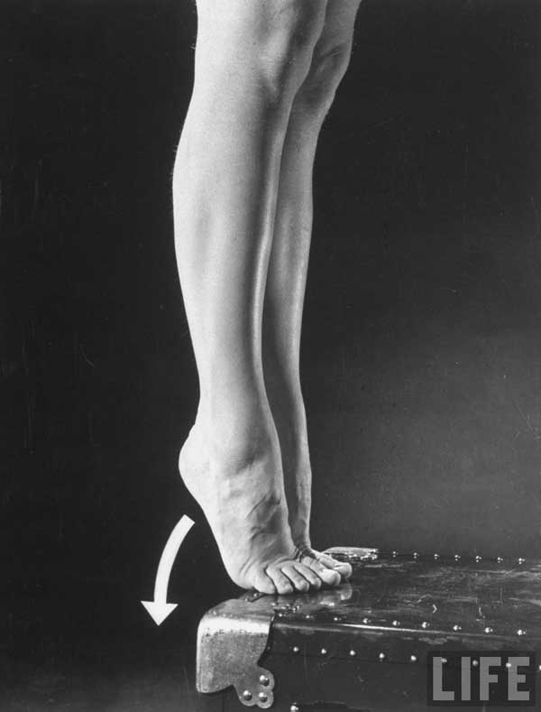 1940 S Womens Army Corps Leg And Feet Exercises