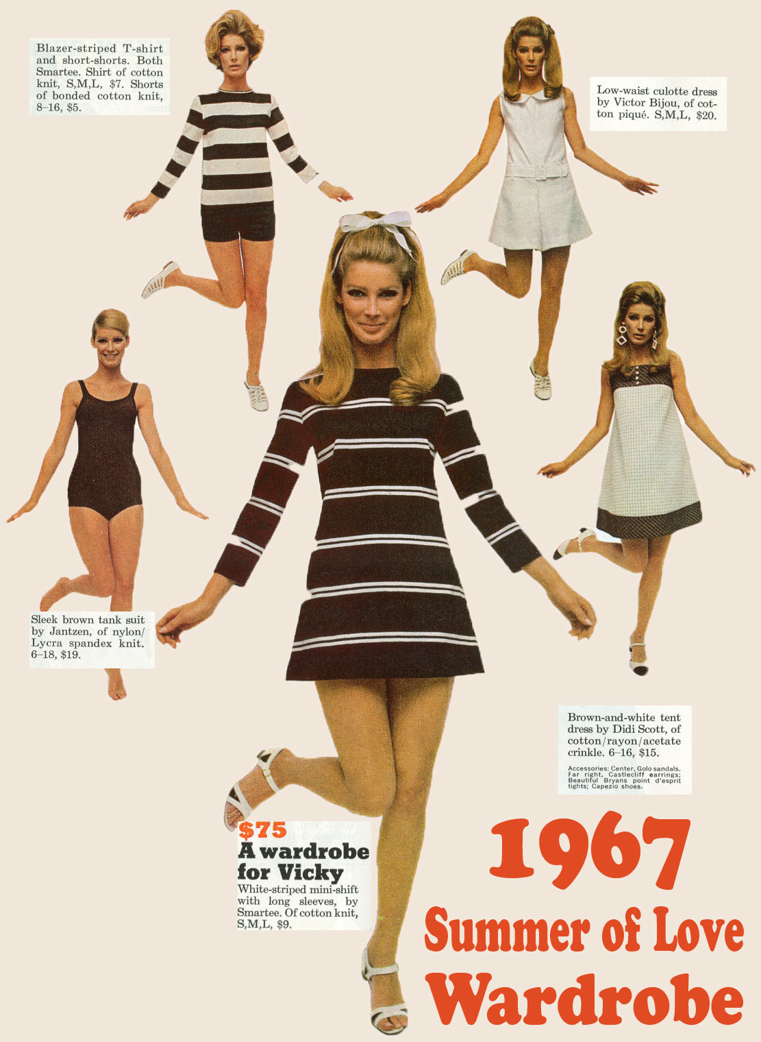 1967 Summer Of Love Wardrobe Inspiration Glamourdaze