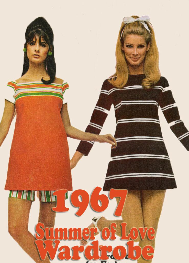 1967 Summer of Love Wardrobe Inspiration. | Glamourdaze  1967 Summer of ...
