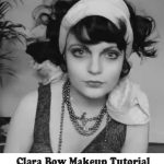 Clara Bow Makeup Tutorial – 1920's Hollywood