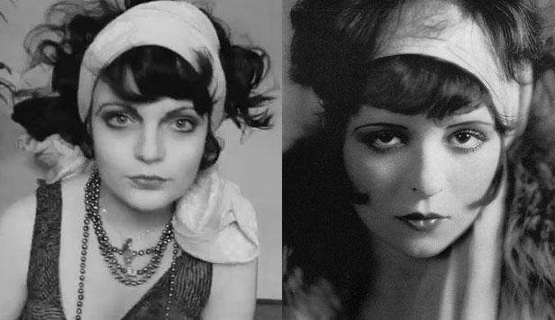 Clara Bow Makeup Tutorial