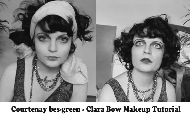 Clara-Bow-Makeup-Tutorial---1920's-Hollywood---Courtney-Green