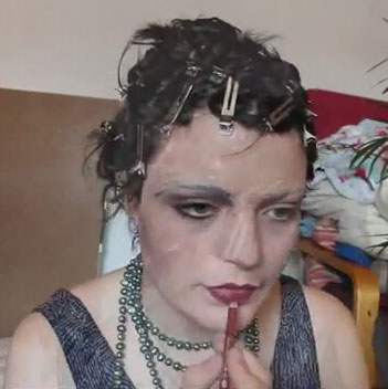 clara bow makeup tutorial 1920s hollywood glamourdaze