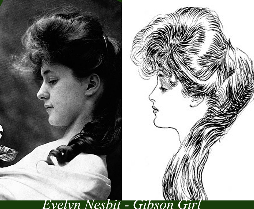 The Real Gibson Girls Glamourdaze - Gibson girl hairstyle youtube