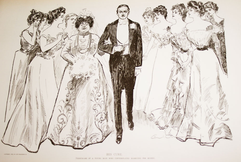 Edwardian Fashion The Gibson Girl Glamour Daze