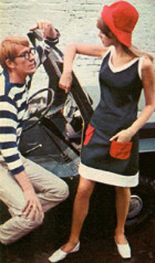 Mary Quant Fashion Shoot Pattie Boyd Model5