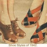 Winter Shoe Styles of 1942.