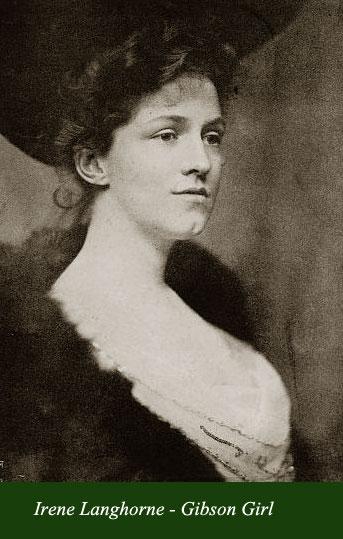 Irene Langhorne - Gibson Girl
