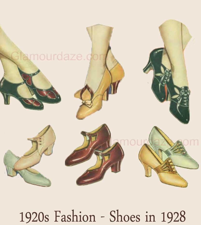 1920s Dress Advice Shoes