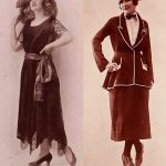 1920s Fashion – US Banks ban Flappers – 1922 report.