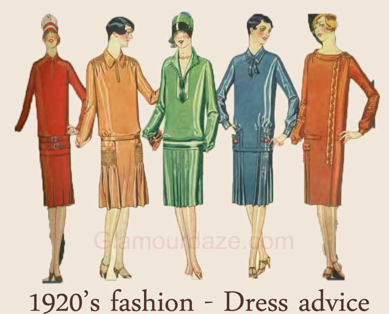 an analysis of womens fashion in 1920s Analyze the development of jazz during the 1920s  flappers favored a young  and boyish style in women's fashion, which largely emerged as a result of.