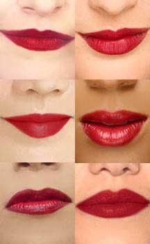 Besame lipsticks ---cherry-red