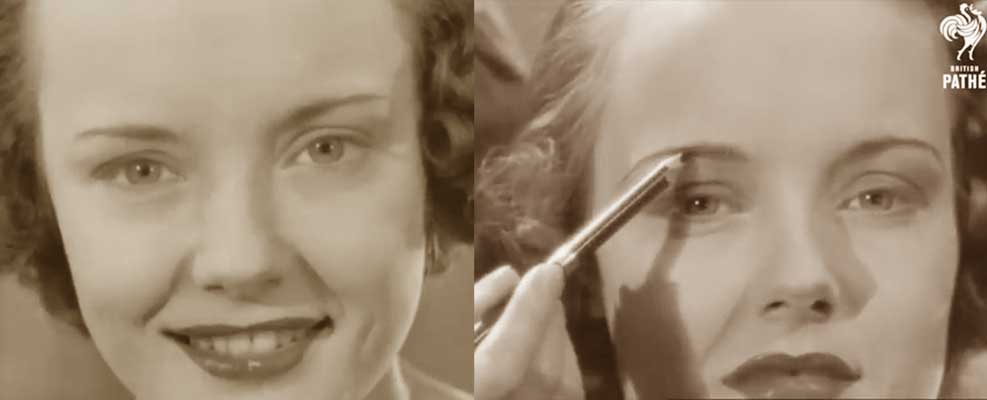 Hoolywood Eyebrow Makeup Tips 1938