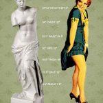 1920s Silhouette – Clara Bow vs Venus