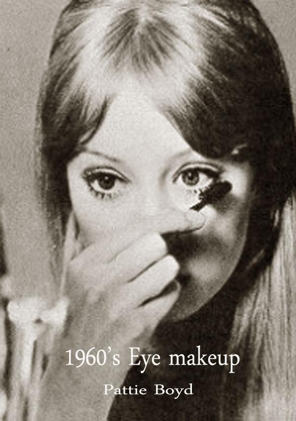 1960 S Eye Makeup Tips Pattie Boyd Glamour Daze