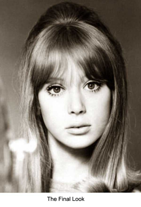 Strange 1960S Long Hairstyle Tips By Sixties Model Pattie Boyd Short Hairstyles Gunalazisus