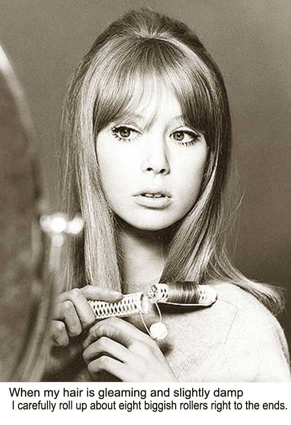 Awesome 1960S Long Hairstyle Tips By Sixties Model Pattie Boyd Short Hairstyles Gunalazisus