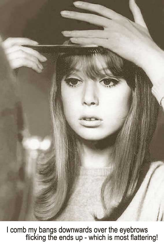 Super 1960S Long Hairstyle Tips By Sixties Model Pattie Boyd Short Hairstyles Gunalazisus