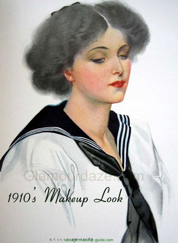 The History Of Makeup 1900 To 1919 Glamour Daze