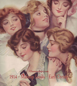 1914-Women---makeup-looks---earl-Christy
