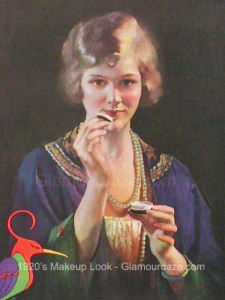 The History Of 1920s Makeup Glamour Daze - 1920s-makeup-ads