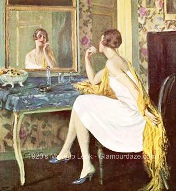 1920s-makeup---vanity-mirror