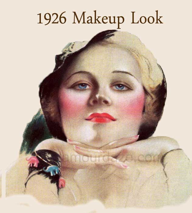 The History Of 1920s Makeup Glamour Daze