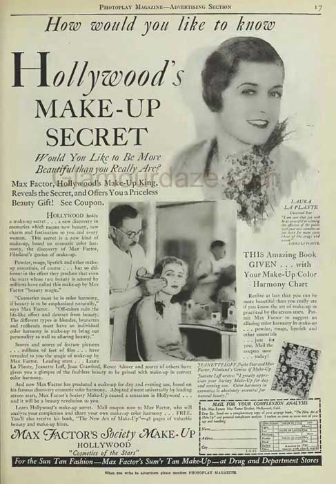 The History Of 1920s Makeup Glamourdaze