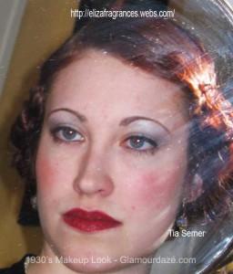 1930s-makeup-look---Tia-Semer---Glamourdaze