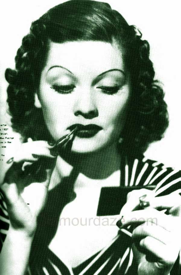 The History Of 20th Century Makeup Glamourdaze Part 1930