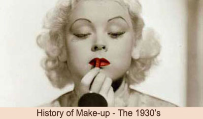 1930s-makeup history
