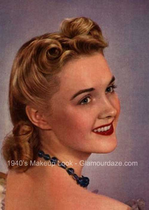 The History of 1940s Makeup | Glamourdaze
