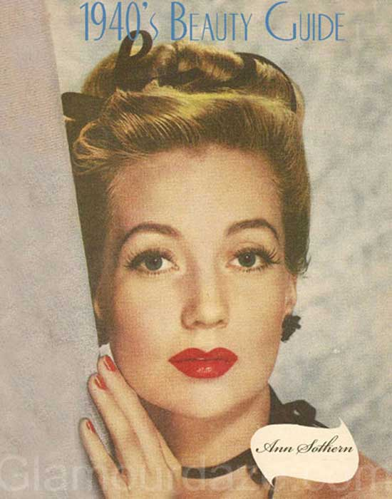 The History Of 1940s Makeup Glamourdaze