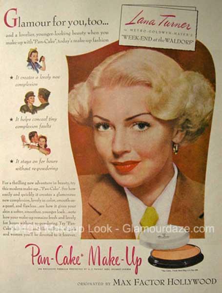 1945-Max-Factor-Makeup-Ad-~-Lana-Turner