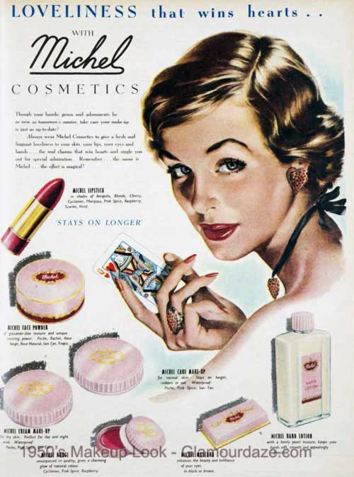 Gallery – Makeup Adverts of the 1950's