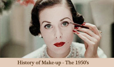 The History Of Makeup In The 50s