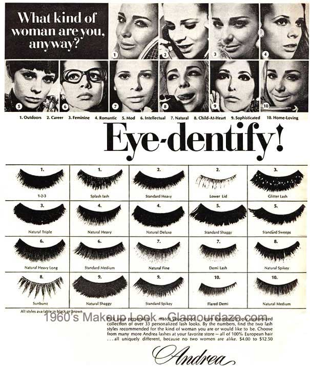 Makeup Adverts of the 1960's