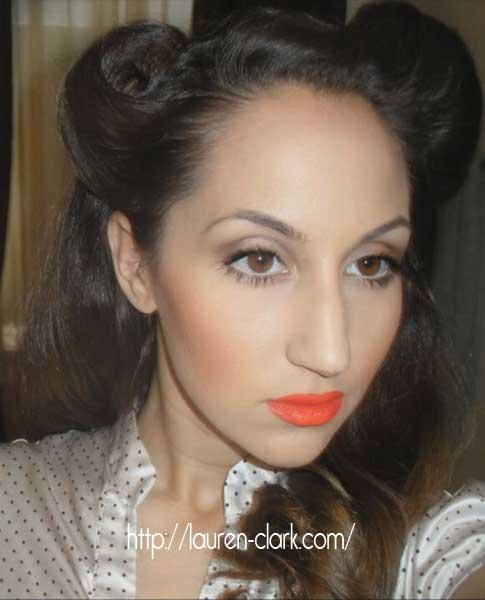 1940s Makeup Easy Tutorial By Lauren Clark Glamour Daze - 1940-makeup