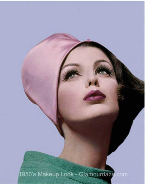 of Makeup – natural The Looks .[peg] the Gallery  1950's look makeup vogue