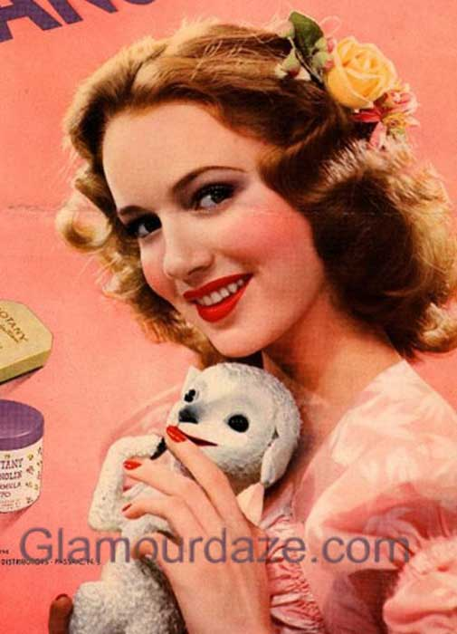 The History of 1940s Makeup | Glamour Daze