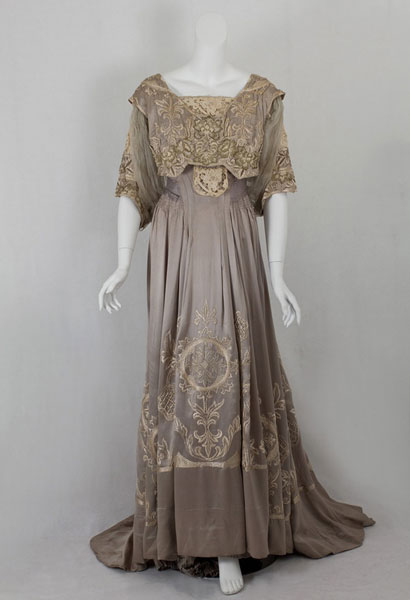 1900's Fashion - Edwardian Summer Gowns 1905 | Glamour Daze