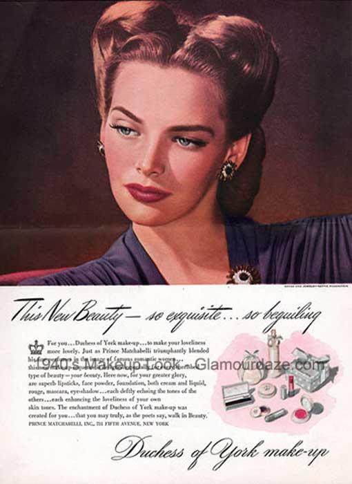 Duchess-Of-York-make-up,-1944